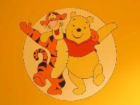2004, Winnie the Pooh, muurschildering, mastenbroers, klaar