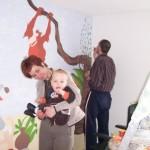 Muurschildering, Junglebook, 2006, funs, marfan