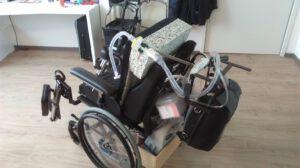 Revalidatiecentrum Adelante Hoensbroek. Opname Funs, rolstoel met thuisbeademing, en alles voor noodgevallen, marfan syndroom, funs lemmens,
