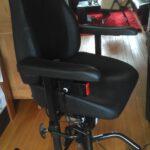 trippelstoel Elektrisch, real 9000 EL, Marfan syndroom, vergroeiingen in rug, longproblemen, thuisbeademing