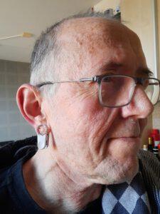 Meting beademing via oorclip, funs lemmens, marfan syndroom, Limburg, Nederland, MUMC, thuisbeademing