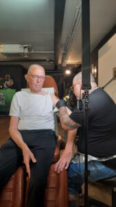 marfan syndroom tatoeage, funs lemmens, ink panthers echt